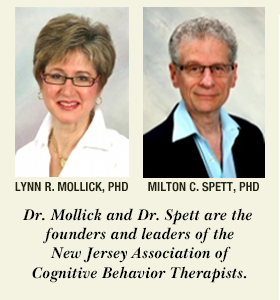 Dr. Lynn R. Mollick and Dr. Milton C. Spett - founders of leaders of the New Jersey Associaton of Cognitive Behavior Therapists